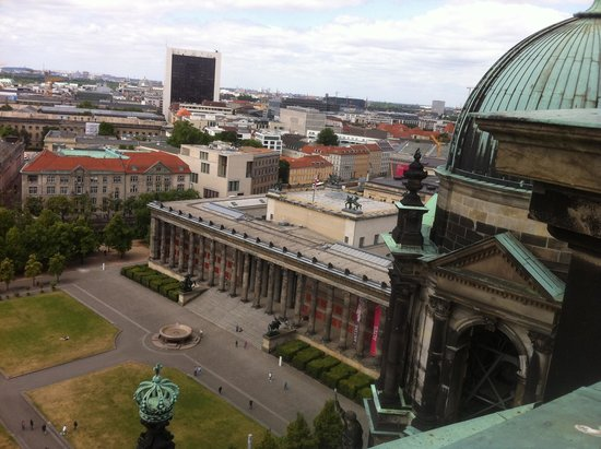 Berlin Cathedral: Views from the roof