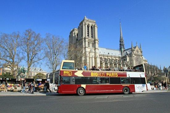 Big Bus Paris: Notre Dame
