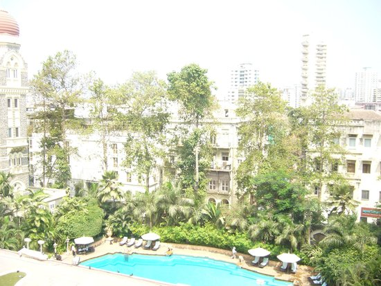 The Taj Mahal Palace: Swimming pool view