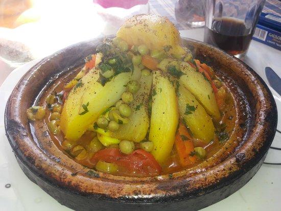 L'Auberge Restaurant: Тажин