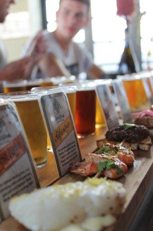 Super Cool Beer Tour: Food & Beer pairing