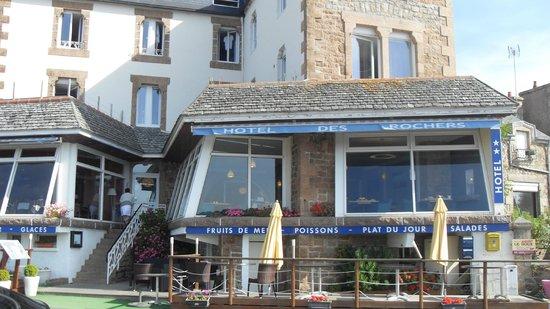 Hotel des Rochers : The hotel