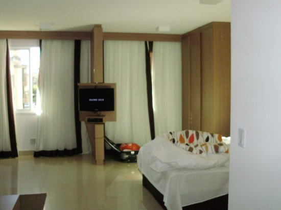 Hotel The Sun: vista interna da suíte