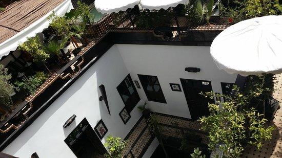 Riad Dar Najat: View from balcony