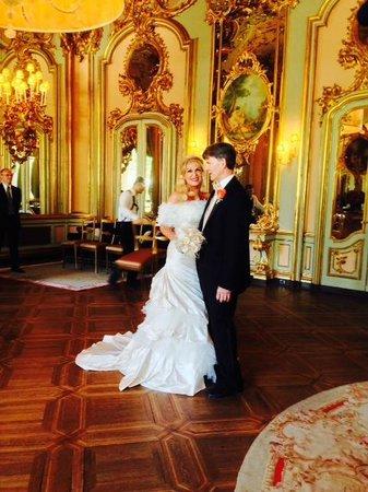 Villa Cora: Our wedding in the Salon of Mirrors