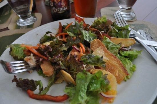 Finca Rosa Blanca Coffee Plantation Resort: salad from the garden