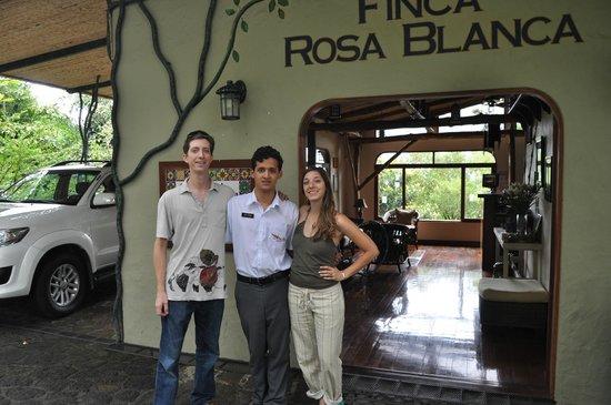 Finca Rosa Blanca Coffee Plantation Resort: Carlos!