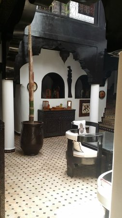 Riad Dar Najat: Ground floor