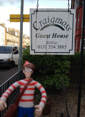 Canadale Guest House: Wally traveled with us.