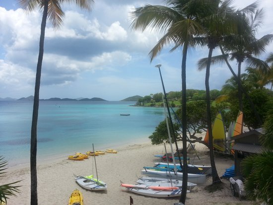 Caneel Bay Resort: From the main buildings