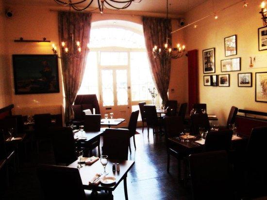 Daft Jamie's Restaurant: Upstairs Dining Area