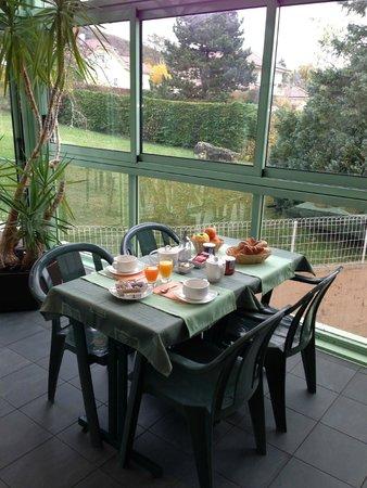 Hotel Le Jura : petit déjeuner