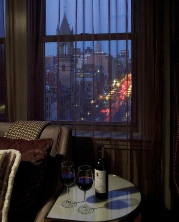 Lenox Hotel : Penthouse Suite