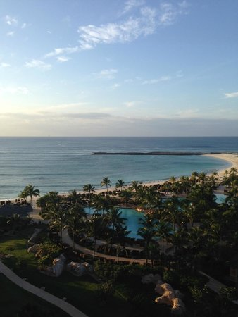 The Reef Atlantis, Autograph Collection: View from our room before dinner