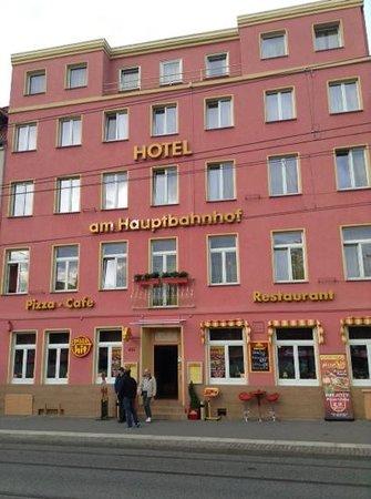 Hotel am Hauptbahnhof : ホテル全景