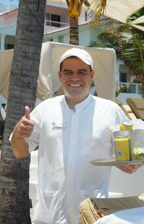 Marival Resort & Suites: Best Server, EVER!