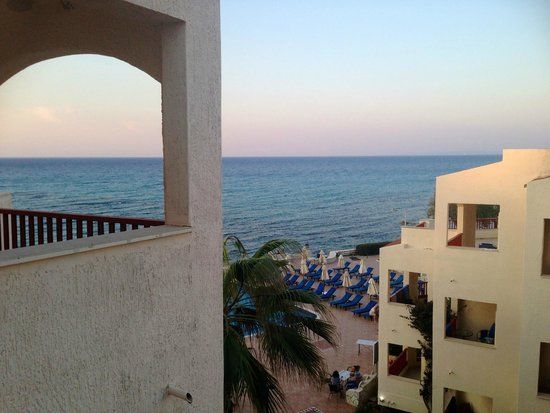 Caravel Hotel Zante: The view from our balcony