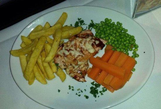 Glendevon Hotel: Sample of menu