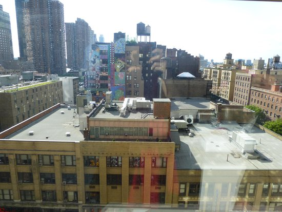 Row NYC Hotel: View from Room 1058
