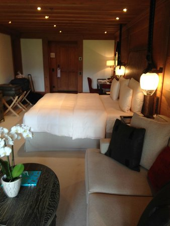 The Alpina Gstaad: Deluxe Room
