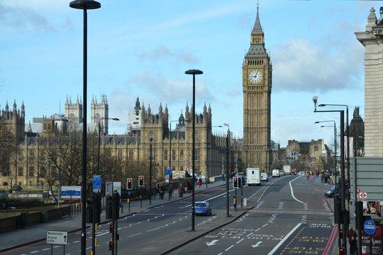 Park Plaza Westminster Bridge London : vista dall'Hotel