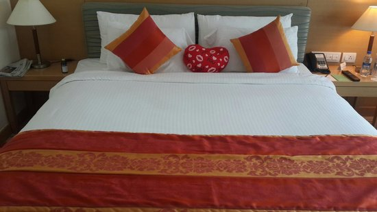 Accord Puducherry : The room..
