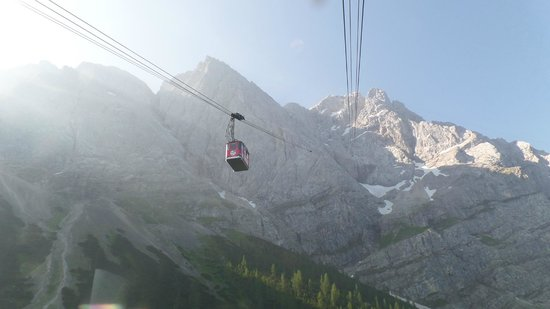 Zugspitze cable car.