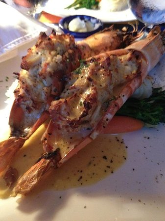 Calypso Grill: Crab stuffed shrimp.  The best thing, ever.