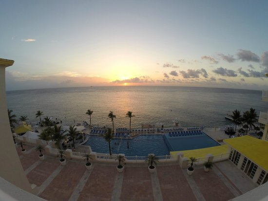 Cozumel Palace: View from our room