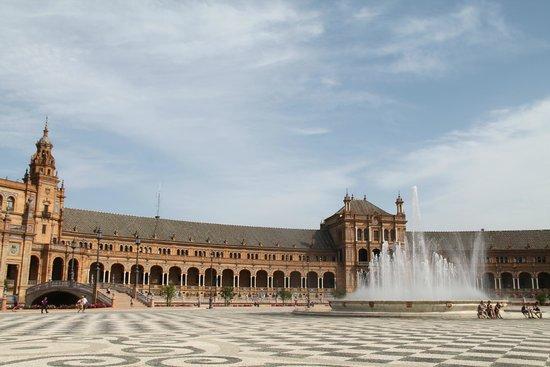 Plaza de España: Днем