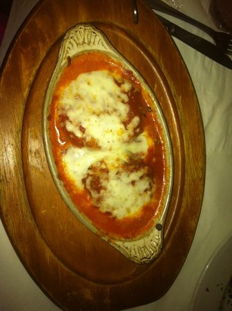 Italian Courtyard Incorporated: Eggplant Parmesan made with FRESH eggplant