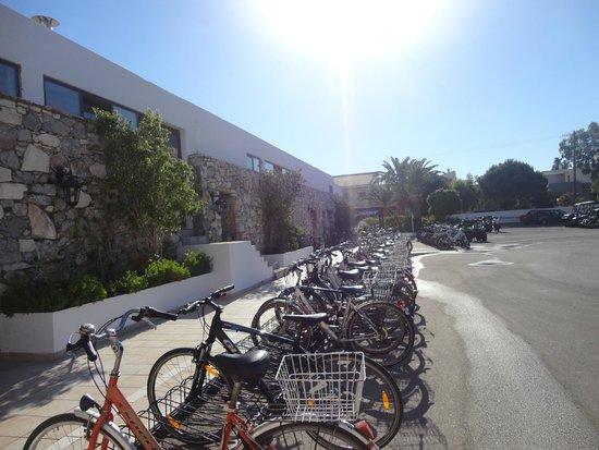 Mitsis Ramira Beach Hotel : location de vélos