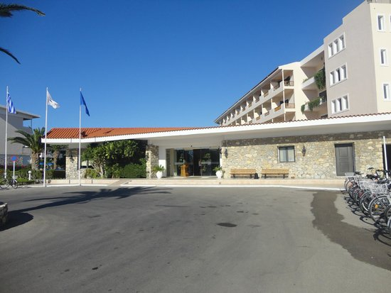 Mitsis Ramira Beach Hotel : Entrée principale