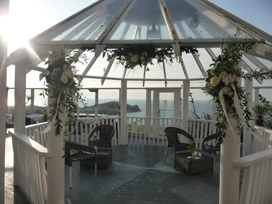 The Atlantic Hotel : What a setting for saying your vows