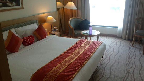 Accord Puducherry : View of the room...