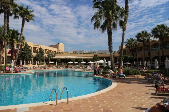 Grupotel Santa Eularia Hotel: Pool View