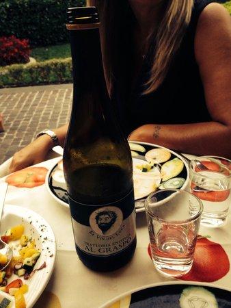 Trattoria Al Graspo : El vin de Luca
