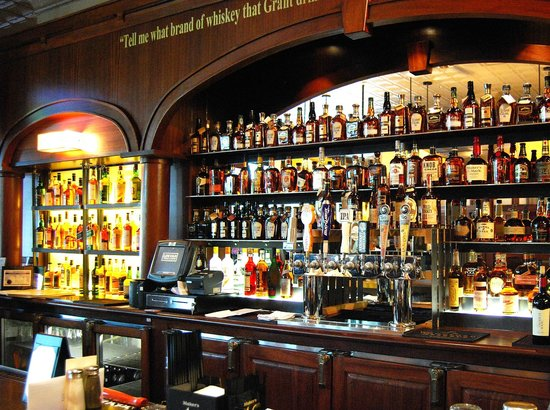 Top Notch Bourbon Selection - Picture of Lincoln Whiskey Kitchen ...