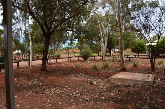 Ayers Rock Campground: jolie coin