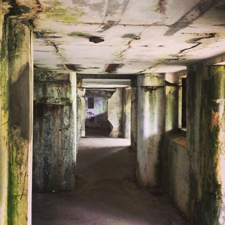 Fort Stevens State Park: Interior of one of the batterys