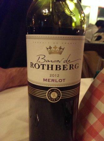 Oud Holland: Baron de Rothberg 2012 Merlot for 19.50 euros