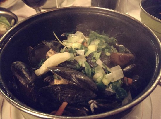Oud Holland: Boiled mussels