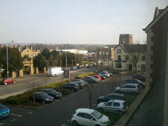 Premier Inn Nottingham North (Daybrook) Hotel: View from top floor window