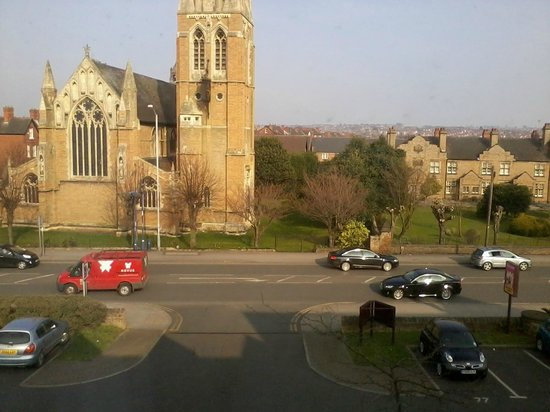 Premier Inn Nottingham North (Daybrook) Hotel: View straight out of car park