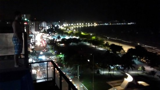 Vista Mar Hotel: Vista do 10º andar - Ao lado da Piscina