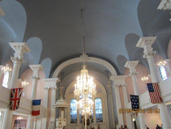 Capilla de San Pablo: Inside the church