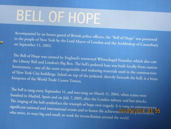 Capilla de San Pablo: About Bell of hope