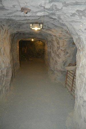 The Big Hole Kimberley: Underground section (fairly spacious)