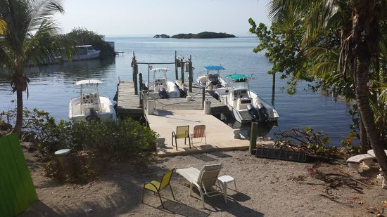 Captain Pip's Marina & Hideaway: View from the Apartment