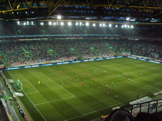 Estadio de Alvalade : Noite de jogo